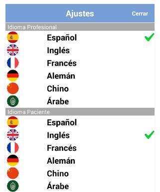 Mix Radio Services - Übersetzungshilfe mit Sprachenauswahl
