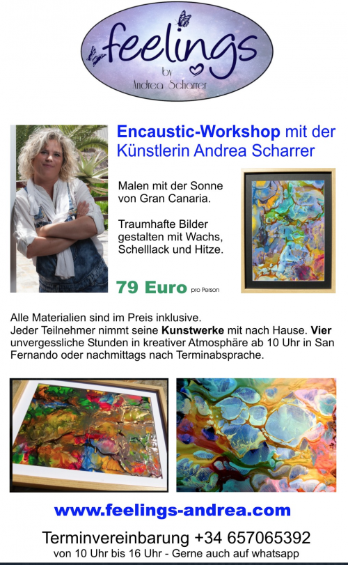 Mix Radio Veranstaltungen - Encaustic Workshops