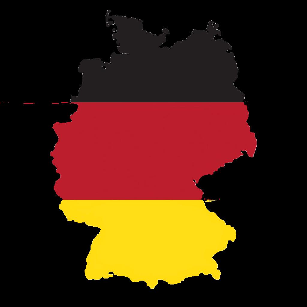 Mix Radio Wetterkarte Deutschlandfahne