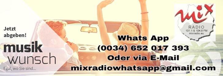 Mix Radio Musikwünsche - Jetzt abgeben